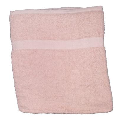 Банное полотенце ZASTELLI махровое Розовое фото 4