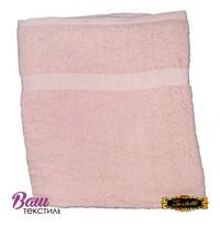 Банное полотенце ZASTELLI махровое Розовое фото