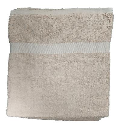 Банное полотенце ZASTELLI махровое Кремовое фото 4