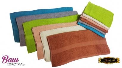 Банное полотенце ZASTELLI махровое Кремовое фото 2