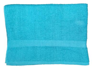 Банное полотенце ZASTELLI махровое Голубое фото 4