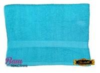 Банное полотенце ZASTELLI махровое Голубое фото
