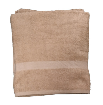 Terry bath towel Zastelli Beige фото 4