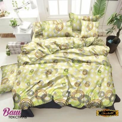 Bed linen set ZASTELLI 30-0263 Beige Cotton Gold  фото