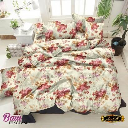 Bed linen set ZASTELLI 20-1077 Melon Cotton Gold  фото
