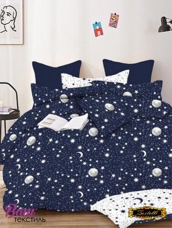 Постельное белье Zastelli Stars on Blue бязь  фото