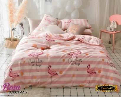 Постільна білизна Zastelli Flamingo бязь фото