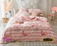 Bed linen set Zastelli Flamingo Cotton фото