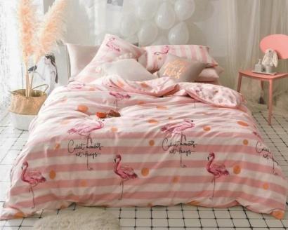 Постільна білизна Zastelli Flamingo бязь фото 2