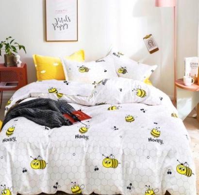 Bed linen set Zastelli Bees Cotton фото 2