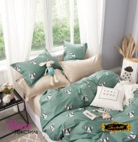 Bed linen set Zastelli Dogs Cotton фото