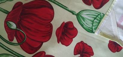 Полотенце кухонное ZASTELLI сатин Цветы фото 8