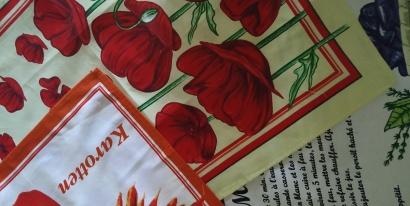 Полотенце кухонное ZASTELLI сатин Цветы фото 7