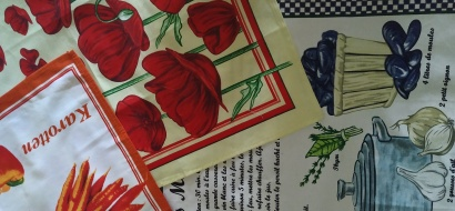 Полотенце кухонное ZASTELLI сатин Цветы фото 6