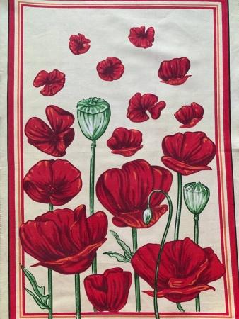Полотенце кухонное ZASTELLI сатин Цветы фото 2