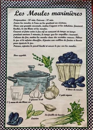 Рушник кухонний Zastelli сатин Рецепт фото 2