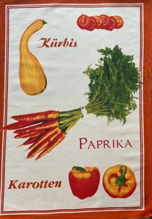 Полотенце кухонное ZASTELLI сатин Перец фото 2