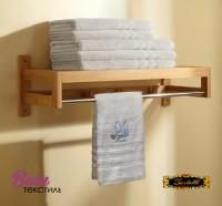Рушник для сауни Zastelli махра Крем фото