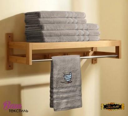 Полотенце для сауны Zastelli махра Беж фото