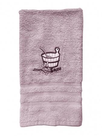 Рушник для сауни Zastelli махра Рожевий фото 4