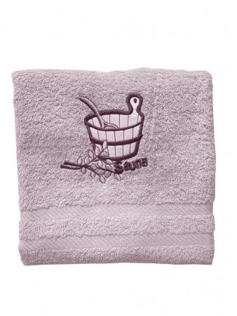Рушник для сауни Zastelli махра Рожевий фото 3
