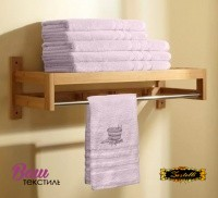 Рушник для сауни Zastelli махра Рожевий фото