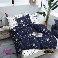 Постельное белье Zastelli Звезды на синем небе бязь
