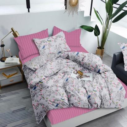 Bed linen set Zastelli Birds Cotton фото 4