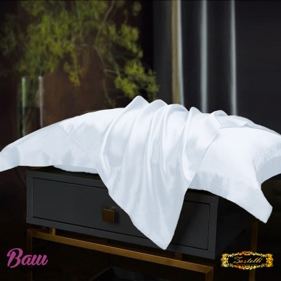 Pillowcase Silk White Zastelli фото