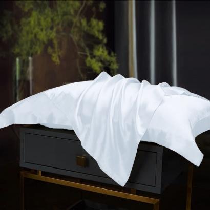 Pillowcase Silk White Zastelli фото 2