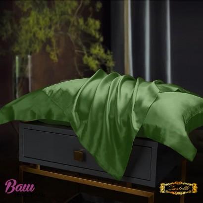 Pillowcase Silk Green Zastelli фото