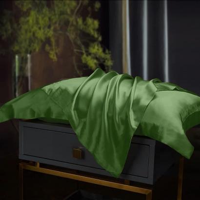 Pillowcase Silk Green Zastelli фото 2
