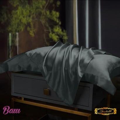 Pillowcase Silk Black Zastelli фото