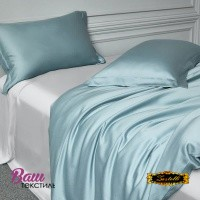 Flat sheet Silk Grey Zastelli фото