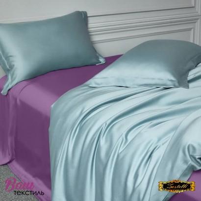 Простынь шелковая темно-фиолетовая Zastelli фото