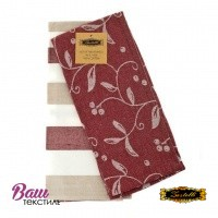 Kitchen towels set ZASTELLI Jacquard Vinous (2 pcs) фото