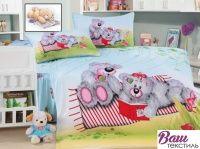 Комплект детского постельного белья Word of Dream TD 216 Мишки Тедди Сатин