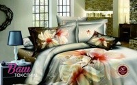 Комплект дизайнерского постельного белья Word of Dream H1318 Сатин