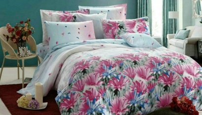 Bed linen set Zastelli 5546-5547 Sateen фото 2