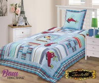 Bedspread for children ZASTELLI 121651 Cotton фото