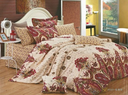 Bed linen set Zastelli 5520 Sateen фото 5