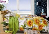 Комплект постельного белья Zastelli 1454 Подсолнушки сатин