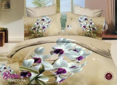 Дизайнерское постельное белье Word of dream Н816 Ванильное небо Сатин фото