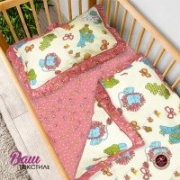Bed linen set for children Word of Dream HB 115 Sateen  фото