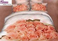 Комплект дизайнерского постельного белья Word of Dream H1571 Романтический Сатин