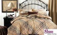 Комплект постельного белья Zastelli 4725-4726 Лаконичность сатин