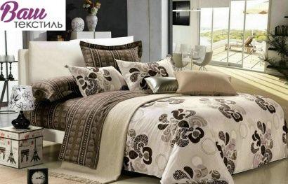 Комплект постельного белья Zastelli 8522 Респектабельность сатин фото