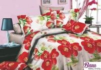 Комплект постельного белья Zastelli 15MM405 Красный шиповник Микросатин