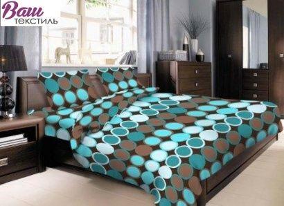 Комплект постельного белья Zastelli 10953 Круги хлопок фото