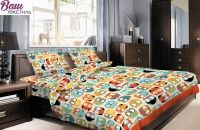 Комплект постельного белья Zastelli 2388 Совы хлопок